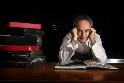 Ferran Adrià, en la cocina de su restaurante, en Cala Montjoi (Roses, Girona).