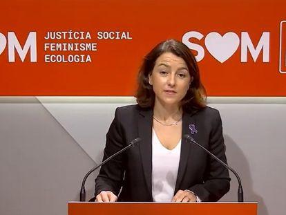 La viceprimera secretaria y portavoz del PSC, Eva Granados.