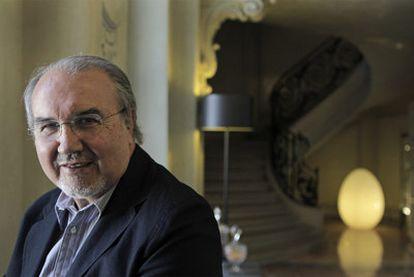 El ex vicepresidente del Gobierno y ex ministro de Economía Pedro Solbes, hace unos días en un hotel de Madrid.