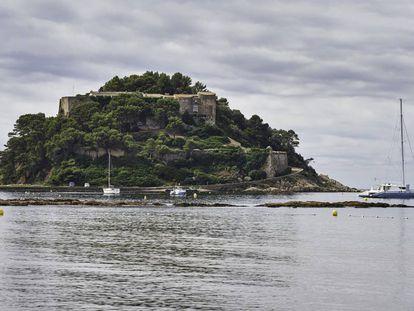 Imagen del fuerte de Brégançon, en la Costa Azul, residencia de verano para los presidentes franceses.