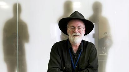 El novelista británico Terry Pratchett, en una imagen de 2012.