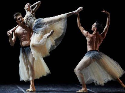 Svetlana Zakharova en uno de los ballets en Peralada.