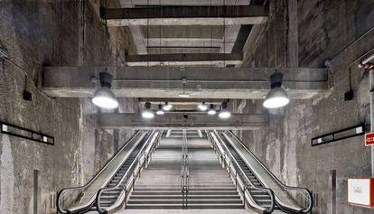 La estación de metro de la línea 9 de Barcelona que ha sido reconocida con un premio FAD.
