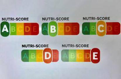 El etiquetado que recoge el modelo Nutriscore.