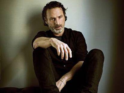Andrew Lincoln, protagonista de la serie 'The Walking Dead', fotografiado en Madrid, en exclusiva para ICON.