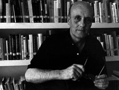 El filósofo Javier Muguerza, en una imagen de archivo.