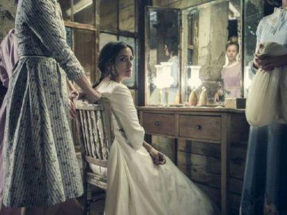 Inma Cuesta en un fotograma de 'La novia'.
