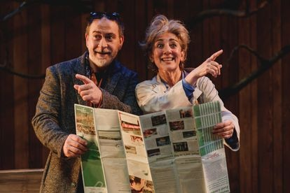Santiago Molero e Isabel Ordaz, en 'El beso', de Ger Thijs.