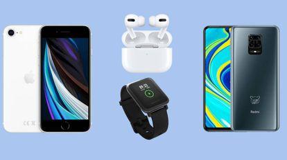 Una selección de los últimos móviles de gama media lanzados este 2020 y una serie de accesorios y gadgets para estrenar esta primavera.