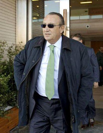 El expresidente de la Diputación de Castellón Carlos Fabra en una foto de archivo.