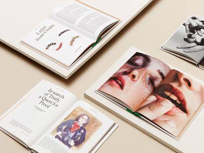 Varios ejemplares de la revista 'Odiseo'.