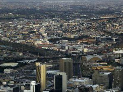 Amanecer en Ciudad del Cabo.