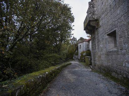 Monasterio rupestre de San Pedro de Rocas, en Esgos (Ourense).