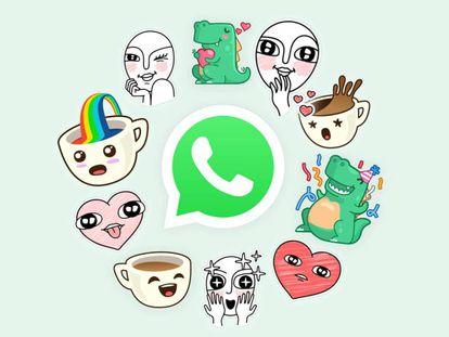Nuevos 'stickers' de Whatsapp.