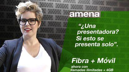 Nueva oferta de Amena de fibra y móvil.