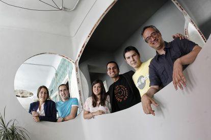 El equipo que supervisa en Madrid el grado universitario.