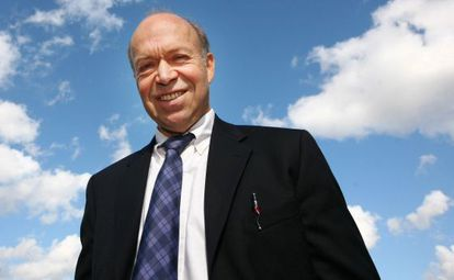 El científico James Hansen.