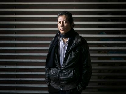 El pensador Byung-Chul Han, fotografiado en Barcelona en febrero de 2018.