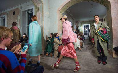 El último desfile de Burberry, de la colección primavera verano 2018 en la Semana de la Moda de Londres del pasado septiembre.