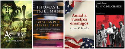 Libros recomendados por Antonio Garamendi, Juan Manuel Serrano, Carles Navarro y José Luis Bonet.