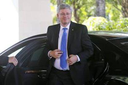 El primer ministro canadiense, Stephen Harper. EFE/Archivo