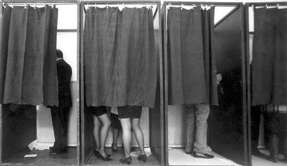 Jornada electoral del 29 de octubre de 1989 en Madrid