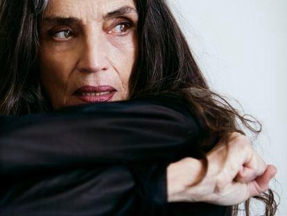 Ángela Molina, premio Goya de Honor, fotografiada recientemente en Madrid.