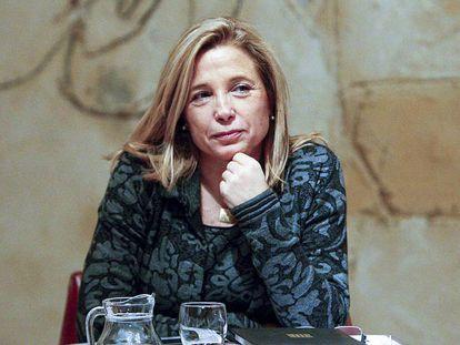 La exvicepresidenta Joana Ortega, en una imagen de archivo.