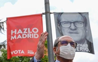 Ángel Gabilondo, en un acto el 20 de abril en Leganés.