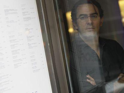 El escritor colombiano Juan Gabriel Vásquez, fotografiado en Madrid.