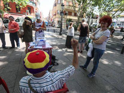 Consulta popular en el distrito de Vallecas para apoyar la República como forma de gobierno.