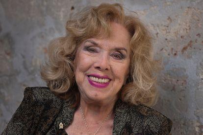 Rosita Fornés, actriz y cantante cubana, en su casa de La Habana, en abril de 2012.