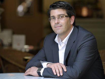 El alcalde de Ontinyent, Jorge Rodríguez.