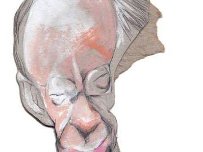 Ian McEwan, visto por Sciammarella.