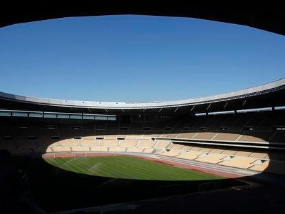 Vista general del estadio de La Cartuja de Sevilla.
