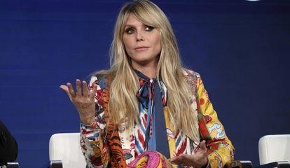 Heidi Klum, en la presentación de 'Making the Cut' en California el 14 de enero.