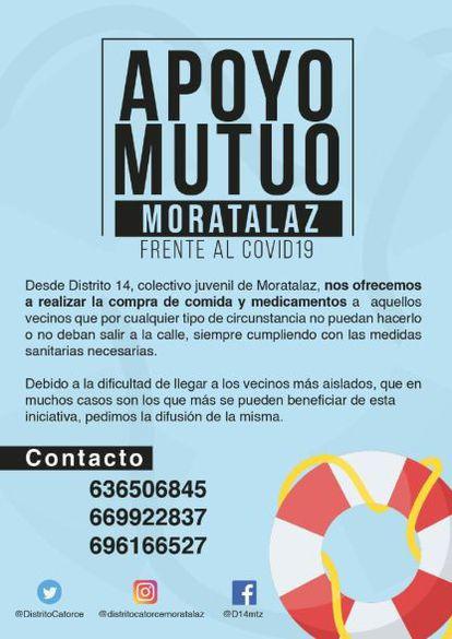 Apoyo Mutuo Moratalaz del grupo Distrito 14
