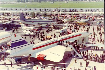 Concorde 001 en el Paris Air Show de 1971.