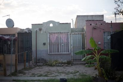 Domicilio en la colonia Los Olivos de Giovanni López en Ixtlahuacan, Jalisco.