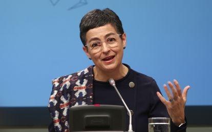 Arancha González Laya, ministra de Exteriores, el pasado 9 de marzo.