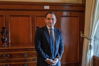 Arturo Herrera, secretario de Hacienda y Crédito Público de México el pasado abril.