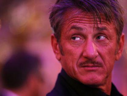 El actor Sean Penn.