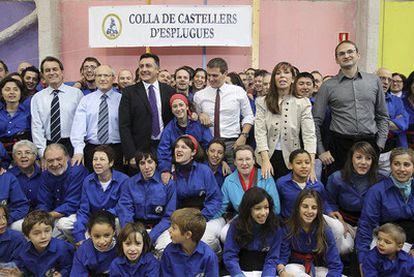 Los candidatos a presidir la Generalitat de Cataluña (de izquierda a derecha): Artur Mas (CiU), José Montilla (PSC), Joan Puigcercós (ERC), Albert Rivera (C's), Alicia Sánchez-Camacho (PP) y Joan Herrera (ICV).
