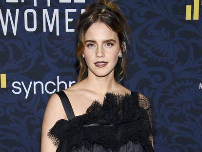 Emma Watson, en el estreno de 'Mujercitas', el pasado diciembre en Nueva York.