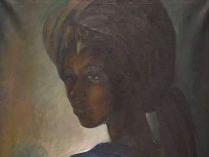 Un experto en arte encuentra el cuadro, del pintor Ben Enwonwu, en un apartamento de Londres