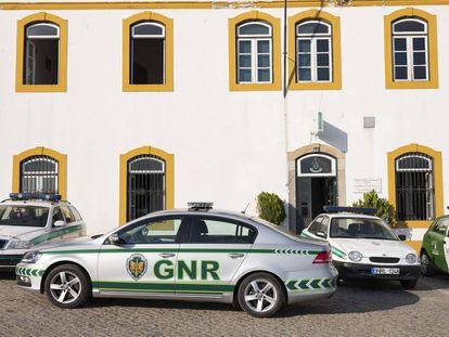 El cuartelillo de la Guardia Nacional Republicana en Montemor.