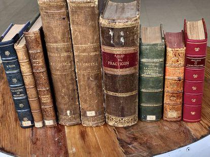 Libros del siglo XIX y principios del XX que recogen la receta
