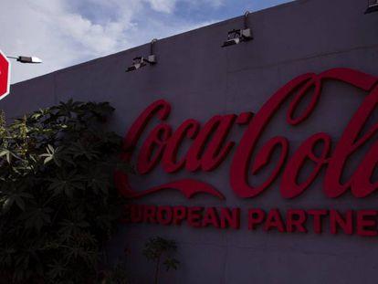 Vista de una de las plantas de Coca-Cola European Partners en España.