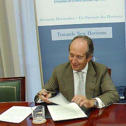 César Real, presidente del cluster de empresas mixtas