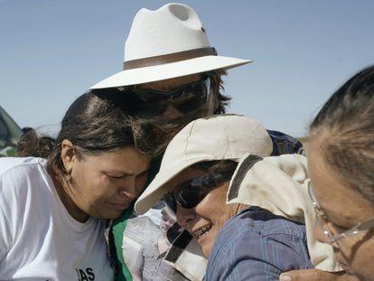 Las Rastreadoras de El Fuerte, en una imagen del documental 'Te nombré en el silencio'.
